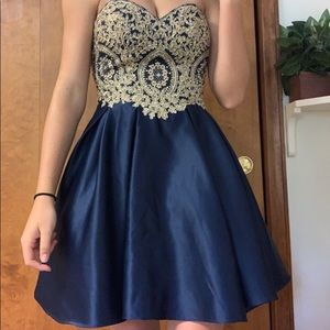 Betsy Adam Homecoming Dress